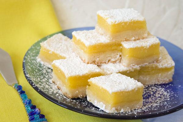 Lemon Russian Tea Cake Cookies